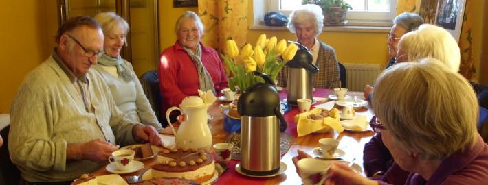 Seniorencafé im Hospizbüro Greifenberg